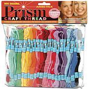 DMC Prism Craft Thread Jumbo Pack 9.9yd 105/Pkg - Assorted Colors