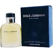 Dolce and Gabbana Men's Eau De Toilette Spray - 4.2 Oz.