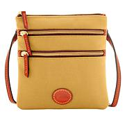 Dooney & Bourke Triple-Zip Nylon Crossbody