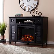 Fairbury 3-in-1 Electric Fireplace Media Console - Black