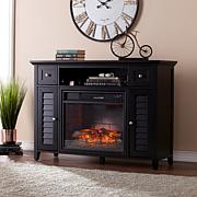 Fairbury 3-in-1 Infrared Fireplace Media Console - Black