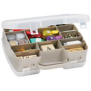 Flambeau Art Bin 2-Sided Satchel Compartment Box