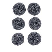 Fuller Brush Co. 6-pack Coiled Stainless Steel Sponges
