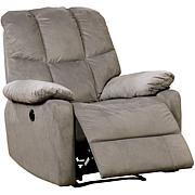 Furniture of America Nadeen Flannelette Power-Assist Recliner