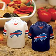 Gameday Ceramic Salt and Pepper Shakers - Buffalo Bills