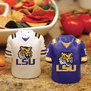 Ceramic Salt and Pepper Shakers - College