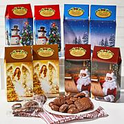 Giannios 4 lbs Assorted Chocolates with Holiday Gift Boxes