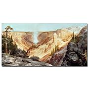 "Giclee Print - The Grand Canyon of Yellowstone 16""x32"""