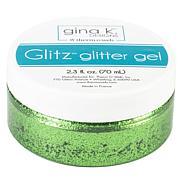 Gina K Designs Glitz Glitter Gel 2.3oz - Grass Green