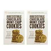 Golden Door Irresistible Cookies 2pk - Chocolate Mint