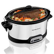 Hamilton Beach Programmable Stay or Go 7 Qt. Slow Cooker