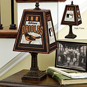 MLB Handpainted Art Glass Team Lamp