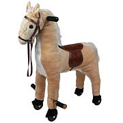 Happy Trails Plush Walking Horse with Wheels
