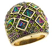 "Heidi Daus ""Artful Treasure"" Crystal Ring"