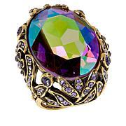 "Heidi Daus ""Dare to Wear"" Oval Crystal Ring"