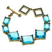 "Heidi Daus ""Hot Rocks"" Geometric Line Bracelet"