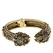 "Heidi Daus ""Lovely Lion"" Crystal Cuff Bracelet"