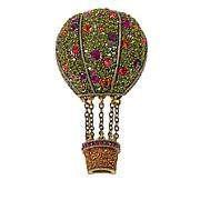 """Heidi Daus """"Rise to the Occasion"""" Crystal Drop Pin"""