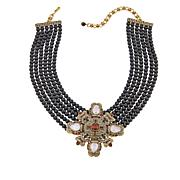 "Heidi Daus ""Runway Fabulous"" 6-Strand Drop Necklace"