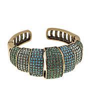 "Heidi Daus ""Tastefully Tiered"" Crystal Cuff Bracelet"