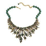 "Heidi Daus ""Warm Embrace"" Beaded Crystal Drop Necklace"