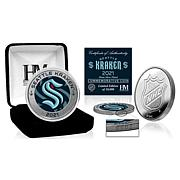 Highland Mint Seattle Kraken Inaugural Season Silver Mint Coin