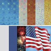 Hot Off The Press Hurray USA Print Paper Pack