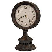 "Howard Miller ""Ardie"" Aged Rustic Shelf Clock"