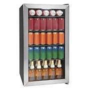 Igloo 3.5 Cu. Ft. 135 Can Stainless Steel Beverage Cooler