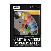 """Jack Richeson 9"""" x 12"""" Grey Matters Paper Palettes"""
