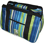 JanetBasket Eco Bag - Blue Stripes