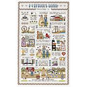 Janlynn Counted Cross Stitch Kit - A Virtuous Woman (14 Count)