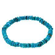 Jay King Royal Blue Turquoise Stretch Bracelet