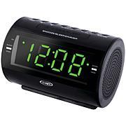 Jensen JCR-210 AM/FM Dual-Alarm Clock Radio