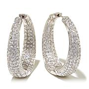 "Joan Boyce ""Tapered and Terrific"" Hoop Earrings"