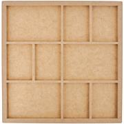 Kaisercraft Beyond The Page MDF 9-Frame Photo Display