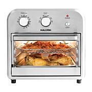 Kalorik 12-Quart Air Fryer Oven - Black, Stainless Steel