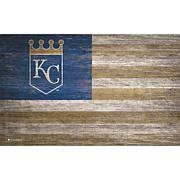 MLB Distressed Flag 11x19
