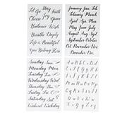 Kelly Creates Everyday Tracing Stamps 4-pack