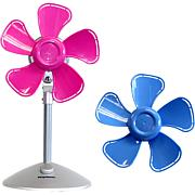 Keystone Flower Desktop Fan with Interchangeable Heads