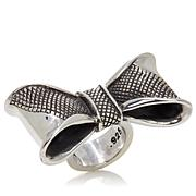 King Baby Jewelry Sterling Silver Bow Ring