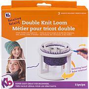 "Knitting Board Rotating Double Knit Loom - 9.5"" x 10.5"" x 3.5"""