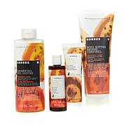 Korres Bergamot Pear 4-piece Bath and Body Collection