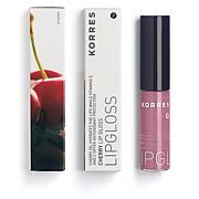 Korres Cherry Oil Lip Gloss - 23 Light Purple