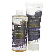 Korres Mulberry Vanilla Shower Gel and Body Butter Duo