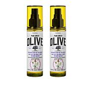 Korres Olive Oil & Orchid Body Oil Duo