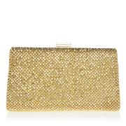 LaRegale Metallic Mesh Handbag