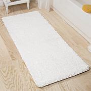 "Lavish Home Memory Foam Shag Bath Mat - 24"" x 60"""