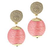Lemon Way Single Ball Drop Earrings