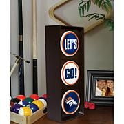 """Let's Go"" Light - Denver Broncos"